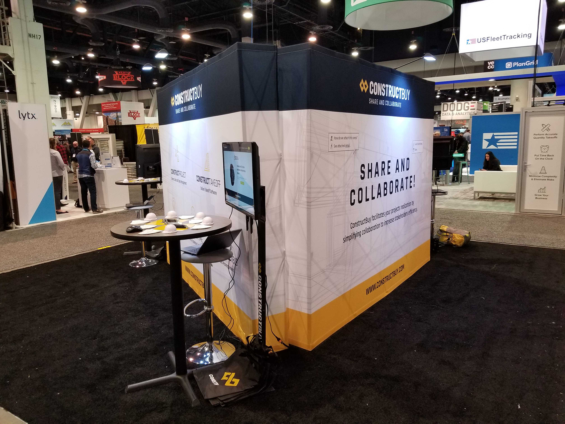 World of Concrete 2019 - ConstructBuy
